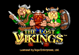 Lost Vikings, The on sega