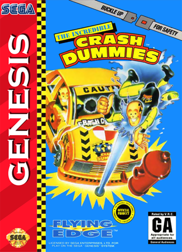 Incredible Crash Dummies, The (Beta) on sega