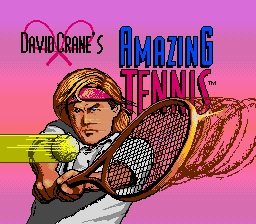 David Crane's Amazing Tennis on sega
