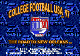 College Football USA 97