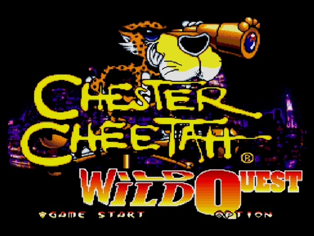 Chester Cheetah - Wild Wild Quest on sega