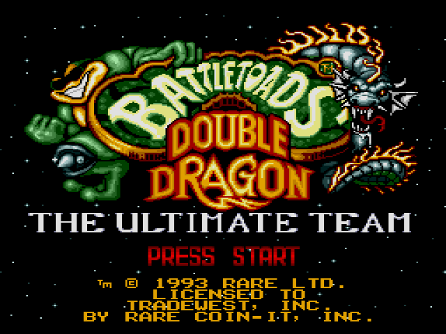 Battletoads & Double Dragon on sega