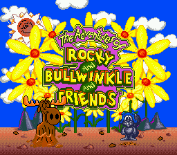 Adventures of Rocky and Bullwinkle and Friends, The on sega