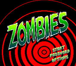 Zombies (Europe) on sega