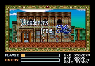 Ys - Wanderers from Ys (Japan)