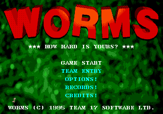 Worms (Europe) on sega
