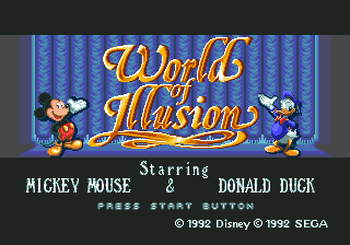 World of Illusion Starring Mickey Mouse and Donald Duck (Europe)