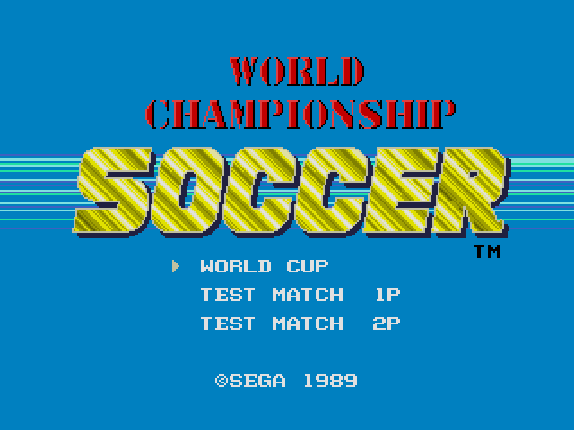 World Cup Soccer ~ World Championship Soccer (Japan, USA) (v1.2)