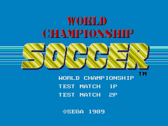 World Cup Soccer ~ World Championship Soccer (Japan, USA) (Rev B)