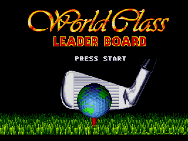 World Class Leaderboard Golf (Europe)