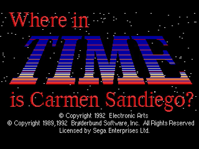 Where in Time Is Carmen Sandiego (Brazil) (Es,Pt)