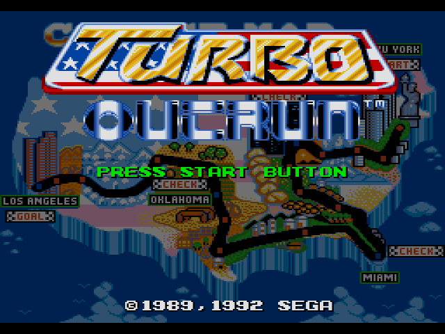 Turbo OutRun (Japan, Europe)