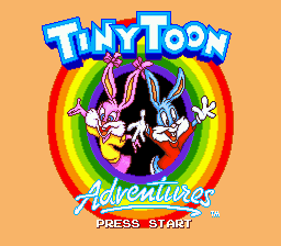 Tiny Toon Adventures - Buster's Hidden Treasure (Europe)