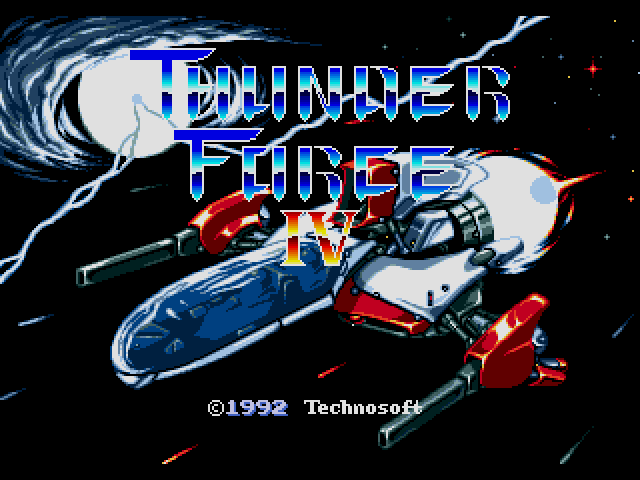 Thunder Force IV (Japan)