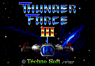Thunder Force III (Japan, USA)