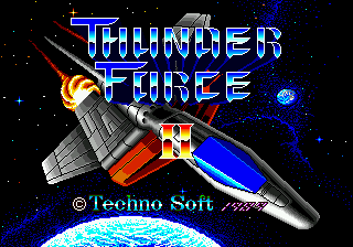 Thunder Force II MD (Japan)