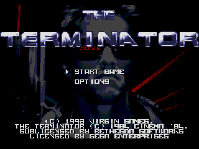 Terminator, The (Europe) on sega