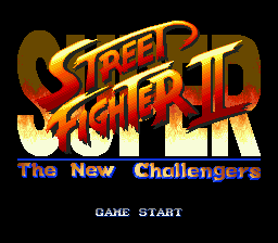 Super Street Fighter II - The New Challengers (Japan)