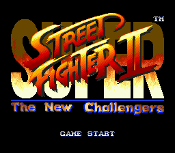 Super Street Fighter II - The New Challengers (Europe)