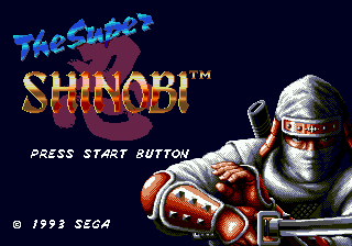 Super Shinobi II, The (Japan)