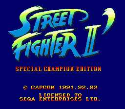 Street Fighter II' - Special Champion Edition (Europe)