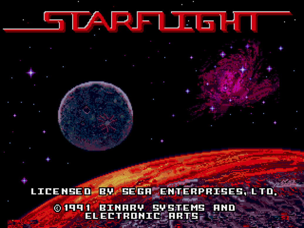 Starflight (USA, Europe)