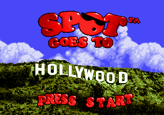Spot Goes to Hollywood (Europe)