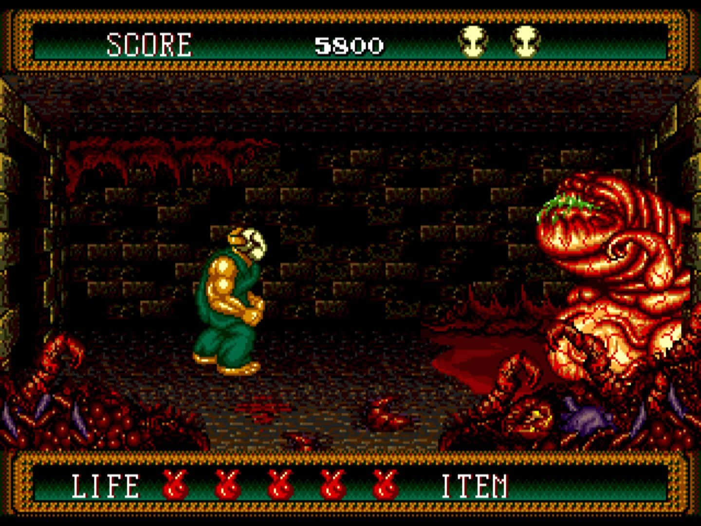 Splatterhouse Part 2 (Japan)