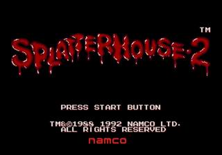 Splatterhouse 2 (Europe)