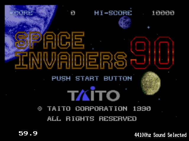 Space Invaders 90 (Japan)