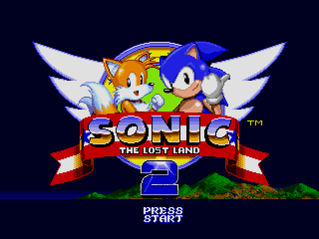 Sonic the Hedgehog 2 (World) (Rev A) [Hack by Team Lost Land v2.0] (~Sonic - The Lost Land 2)