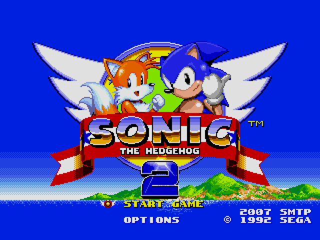 Sonic the Hedgehog 2 (World) (Rev A) [Hack by SMTP v0.50] (~Sonic 2 SMTP)