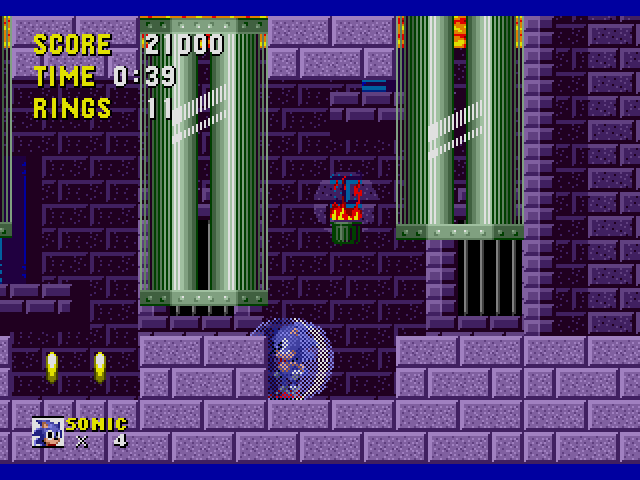Sonic the Hedgehog (USA, Europe) [Hack by LOst v1.0] (Sonic Jam's Easy Mode)