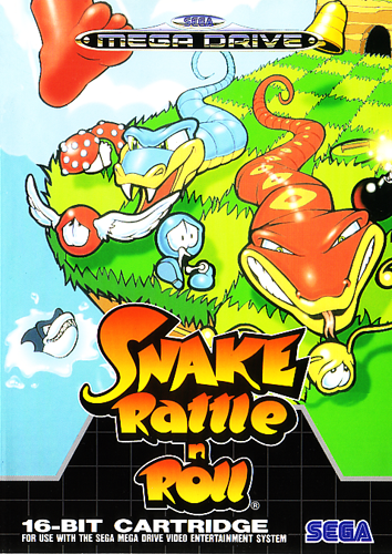 Snake Rattle n' Roll (Europe) on sega