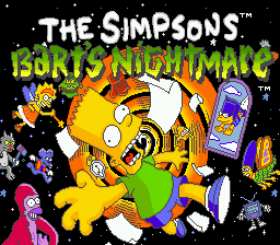 Simpsons, The - Bart's Nightmare (USA, Europe)