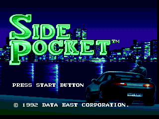 Side Pocket (Europe) on sega