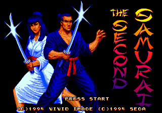 Second Samurai (Europe)