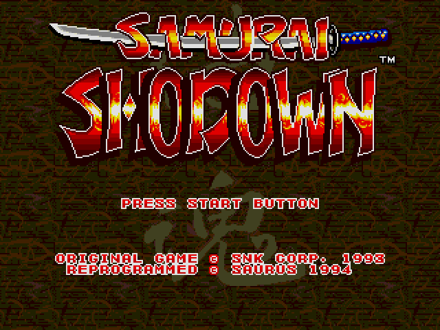 Samurai Shodown (Europe) on sega