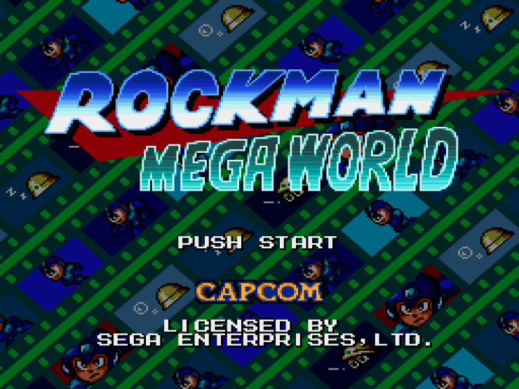 Rockman Mega World (Japan)