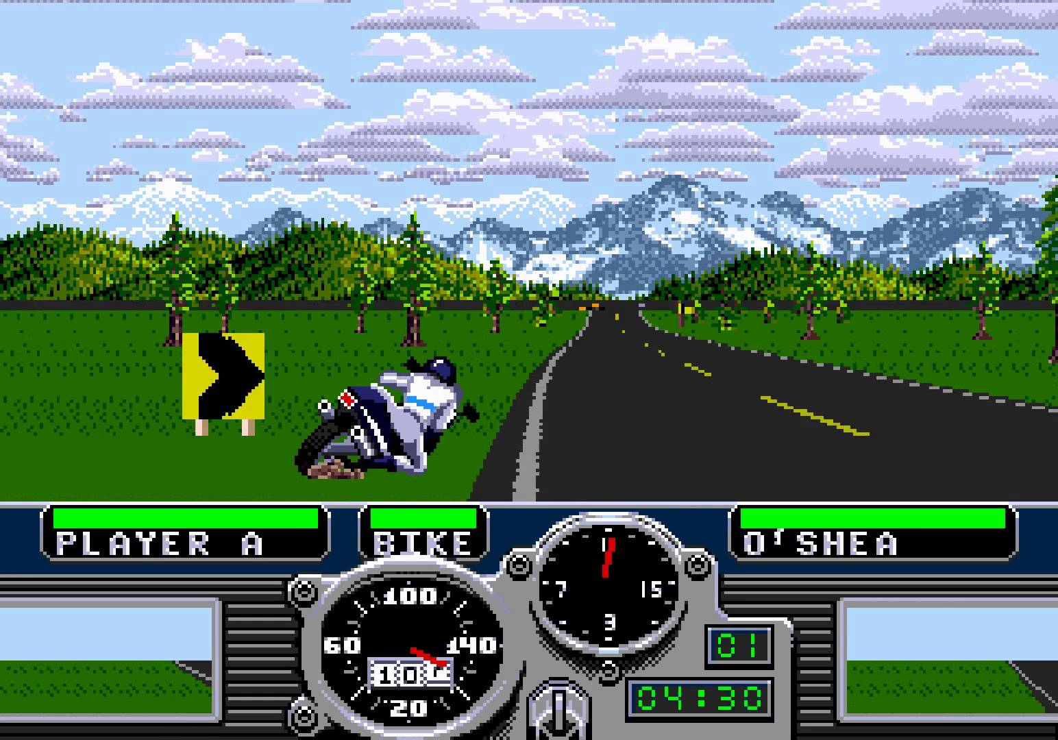 Road Rash (USA, Europe)