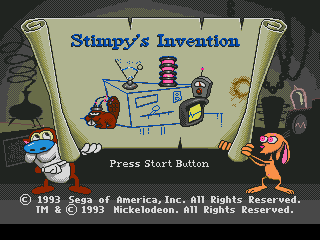 Ren & Stimpy Show Presents Stimpy's Invention, The (Europe)