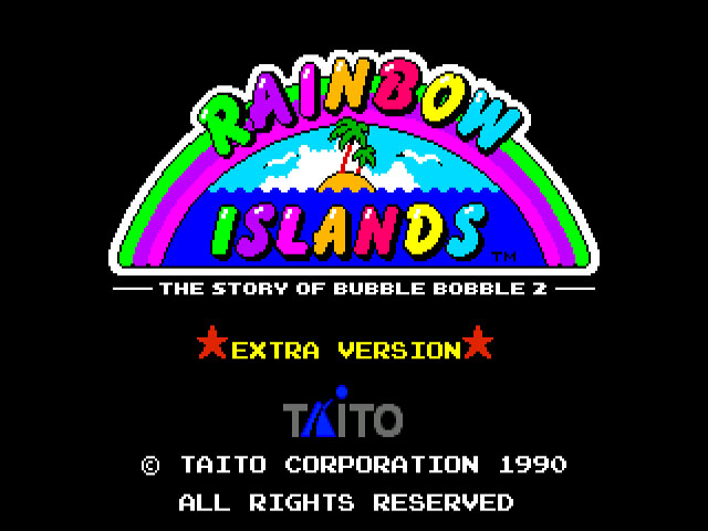 Rainbow Islands Extra (Japan)