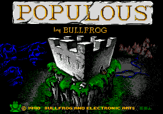 Populous (Europe) on sega