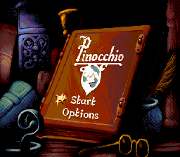 Pinocchio (Europe) on sega