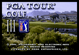 PGA Tour Golf III (USA, Europe)