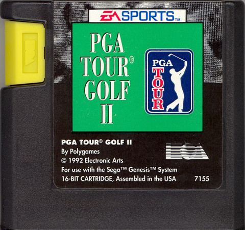 PGA Tour Golf II (USA, Europe)