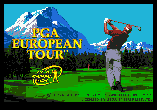 PGA European Tour (USA, Europe)