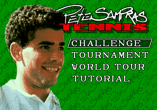 Pete Sampras Tennis (Europe) (Beta)