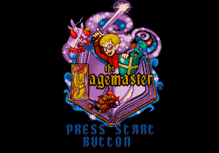 Pagemaster, The (Europe) on sega