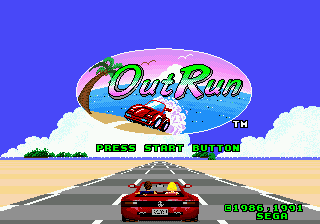 OutRun (USA, Europe)